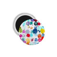 Colorful Diamonds Dream 1 75  Magnets by DanaeStudio