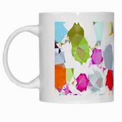 Colorful Diamonds Dream White Mugs