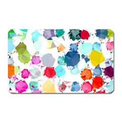 Colorful Diamonds Dream Magnet (Rectangular)
