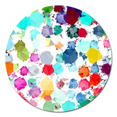 Colorful Diamonds Dream Magnet 5  (Round)