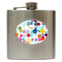 Colorful Diamonds Dream Hip Flask (6 oz)
