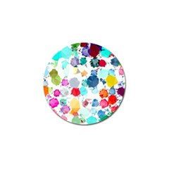 Colorful Diamonds Dream Golf Ball Marker (10 pack)