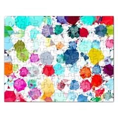 Colorful Diamonds Dream Rectangular Jigsaw Puzzl