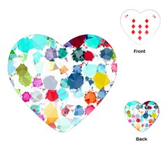 Colorful Diamonds Dream Playing Cards (Heart)