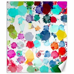 Colorful Diamonds Dream Canvas 8  x 10