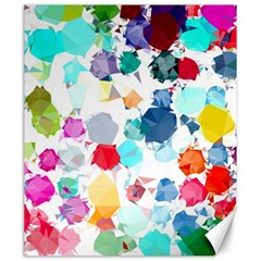 Colorful Diamonds Dream Canvas 20  x 24