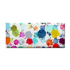 Colorful Diamonds Dream Hand Towel