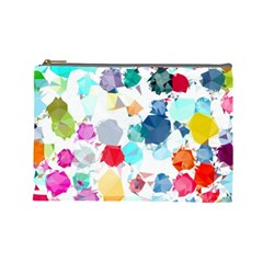 Colorful Diamonds Dream Cosmetic Bag (Large)