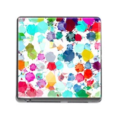 Colorful Diamonds Dream Memory Card Reader (Square)