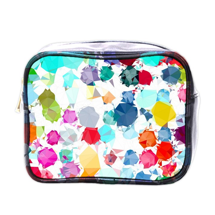 Colorful Diamonds Dream Mini Toiletries Bags