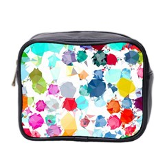 Colorful Diamonds Dream Mini Toiletries Bag 2-Side