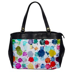 Colorful Diamonds Dream Office Handbags