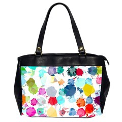 Colorful Diamonds Dream Office Handbags (2 Sides)