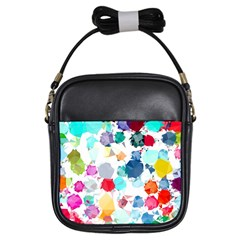 Colorful Diamonds Dream Girls Sling Bags by DanaeStudio