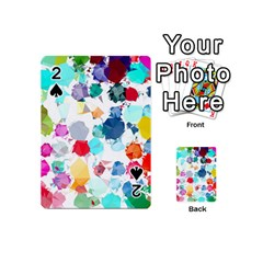 Colorful Diamonds Dream Playing Cards 54 (mini)  by DanaeStudio