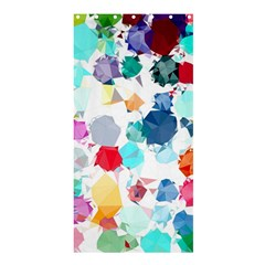 Colorful Diamonds Dream Shower Curtain 36  X 72  (stall)  by DanaeStudio