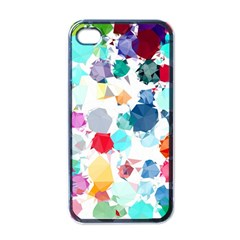 Colorful Diamonds Dream Apple iPhone 4 Case (Black)