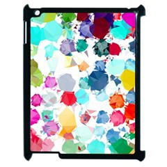 Colorful Diamonds Dream Apple iPad 2 Case (Black)