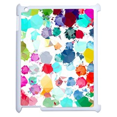 Colorful Diamonds Dream Apple iPad 2 Case (White)
