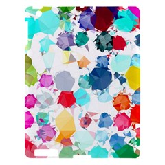Colorful Diamonds Dream Apple iPad 3/4 Hardshell Case