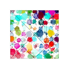 Colorful Diamonds Dream Acrylic Tangram Puzzle (4  x 4 )