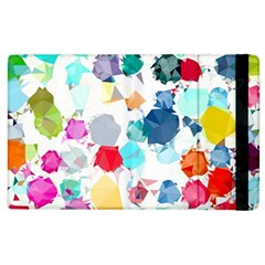 Colorful Diamonds Dream Apple iPad 3/4 Flip Case