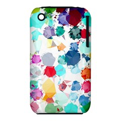 Colorful Diamonds Dream Apple iPhone 3G/3GS Hardshell Case (PC+Silicone)