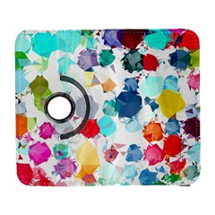 Colorful Diamonds Dream Samsung Galaxy S  III Flip 360 Case