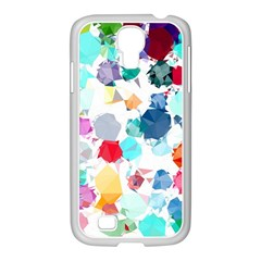 Colorful Diamonds Dream Samsung GALAXY S4 I9500/ I9505 Case (White)