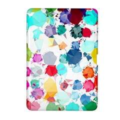 Colorful Diamonds Dream Samsung Galaxy Tab 2 (10.1 ) P5100 Hardshell Case