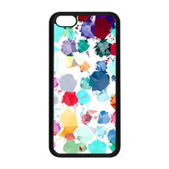 Colorful Diamonds Dream Apple iPhone 5C Seamless Case (Black)