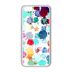 Colorful Diamonds Dream Apple iPhone 5C Seamless Case (White)