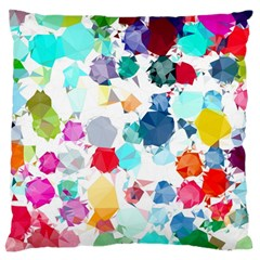 Colorful Diamonds Dream Standard Flano Cushion Case (Two Sides)