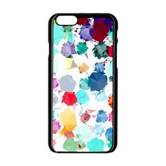 Colorful Diamonds Dream Apple iPhone 6/6S Black Enamel Case