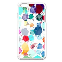 Colorful Diamonds Dream Apple iPhone 6 Plus/6S Plus Enamel White Case