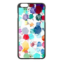 Colorful Diamonds Dream Apple iPhone 6 Plus/6S Plus Black Enamel Case