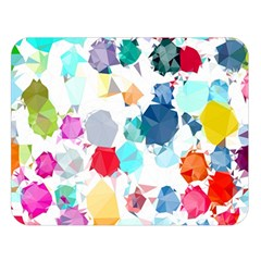Colorful Diamonds Dream Double Sided Flano Blanket (Large)