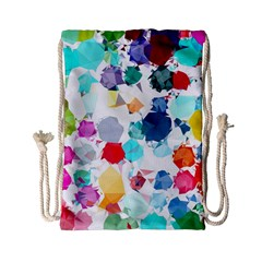 Colorful Diamonds Dream Drawstring Bag (Small)