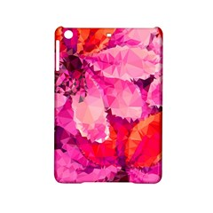 Geometric Magenta Garden Ipad Mini 2 Hardshell Cases by DanaeStudio