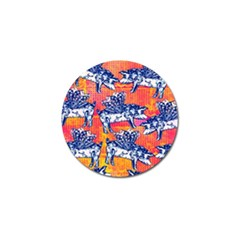 Little Flying Pigs Golf Ball Marker (4 Pack) by DanaeStudio