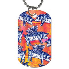 Little Flying Pigs Dog Tag (Two Sides)