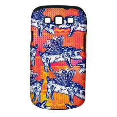 Little Flying Pigs Samsung Galaxy S III Classic Hardshell Case (PC+Silicone)