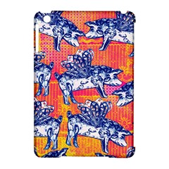 Little Flying Pigs Apple iPad Mini Hardshell Case (Compatible with Smart Cover)