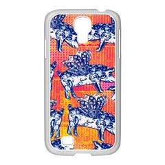 Little Flying Pigs Samsung Galaxy S4 I9500/ I9505 Case (white)