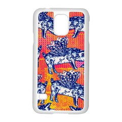 Little Flying Pigs Samsung Galaxy S5 Case (white) by DanaeStudio