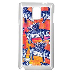 Little Flying Pigs Samsung Galaxy Note 4 Case (White)