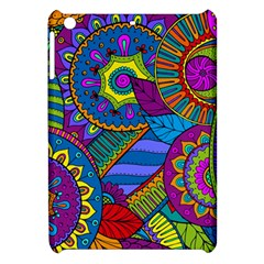 Pop Art Paisley Flowers Ornaments Multicolored Apple Ipad Mini Hardshell Case by EDDArt