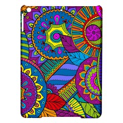 Pop Art Paisley Flowers Ornaments Multicolored Ipad Air Hardshell Cases by EDDArt