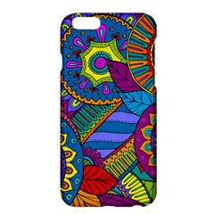 Pop Art Paisley Flowers Ornaments Multicolored Apple Iphone 6 Plus/6s Plus Hardshell Case by EDDArt