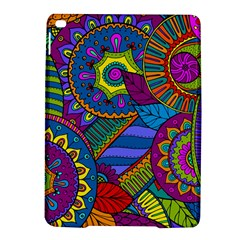 Pop Art Paisley Flowers Ornaments Multicolored Ipad Air 2 Hardshell Cases by EDDArt